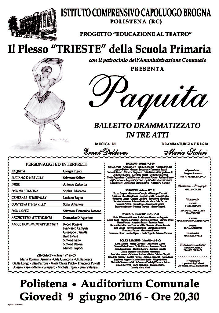 Manifesto educazione al teatro